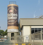 Grain Silo - Namibia Breweries