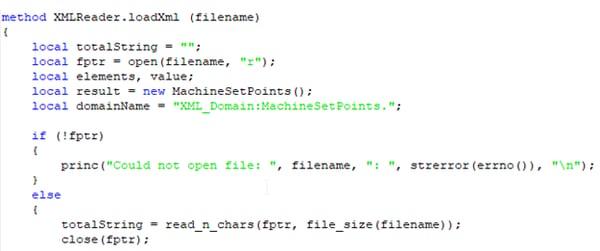 Example - DataHub XML File Load Scripting