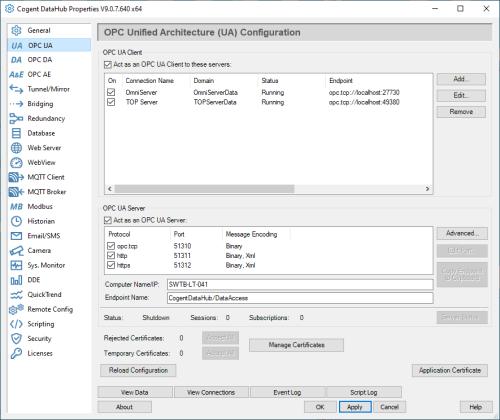 Screenshot_DataHub_OPCUA_Section_500x420