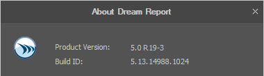 Screenshot - Improved Dream Report Versioning