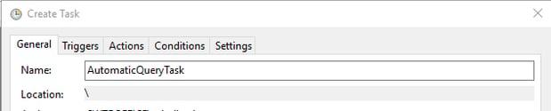 Naming A New Windows Task