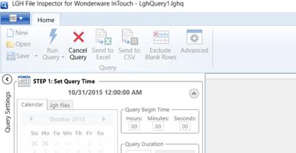 Screenshot - New Cancel Query feature