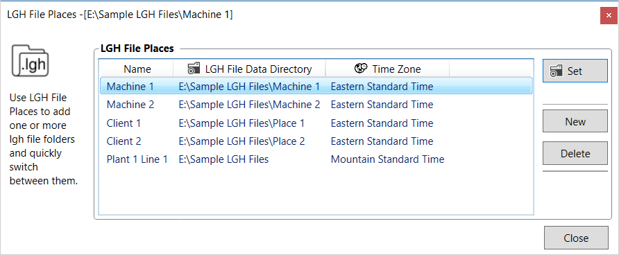 Screenshot - New LGH File Places feature