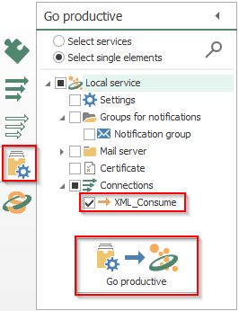 Screenshot - Setting OPC Router configuration Productive