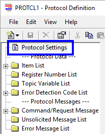 Image - Accessing General OmniServer Protocol Settings
