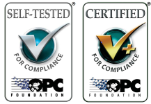OPC Data Client is OPC Certified for Interoperability
