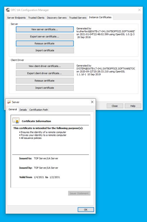 Screenshot_TOPServer_OPCUA_Configuration_Manager_InstanceCertificates