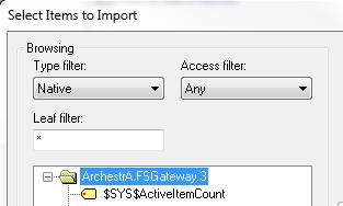 OPC DA Client Driver Item Browsing