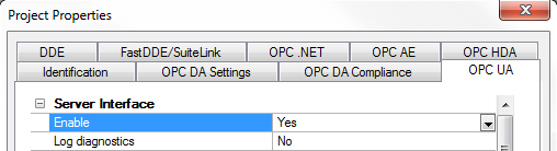 TOP Server OPC UA Enabled