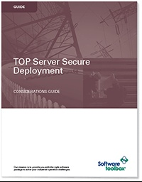 Get TOP Server Secure Deployment Consideration