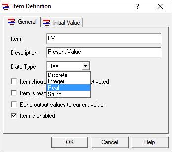 Screenshot - OmniServer Item Data Type