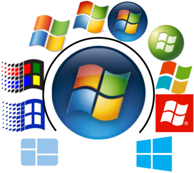 Many Different Versions of Windows